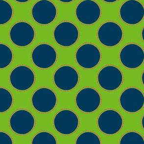 Large Polka Dot fabric template caph-01