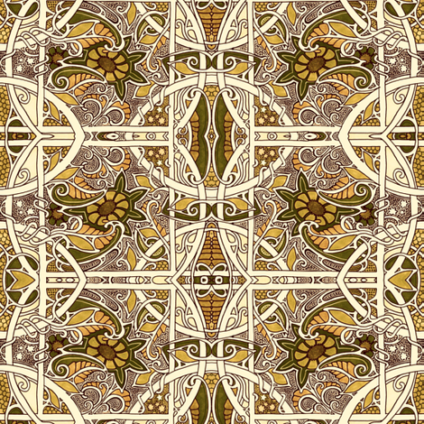 November Comes Again fabric by edsel2084 on Spoonflower - custom fabric