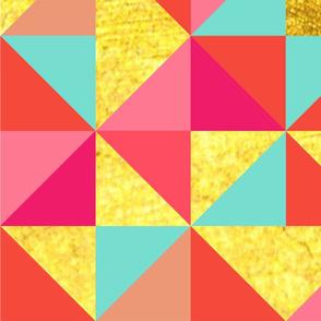Vibrant Triangle Pattern