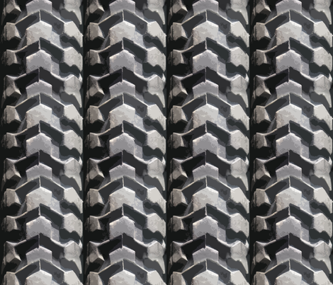 tires tyres art deco  fabric by multi_talented_artist on Spoonflower - custom fabric