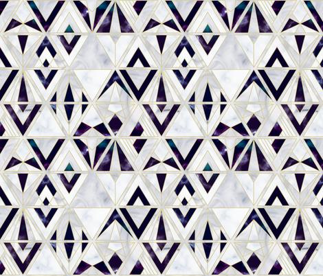 Marble gems fabric by boadala on Spoonflower - custom fabric