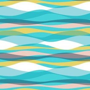 Seashore Stripe - Aqua