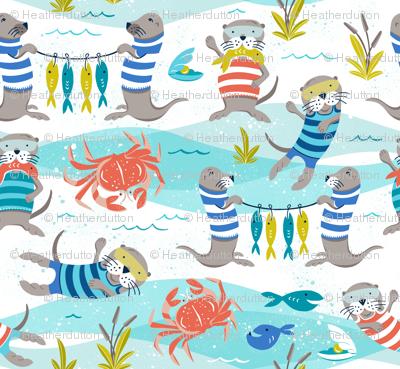 Otterly Fun - Summer Nautical Small Scale