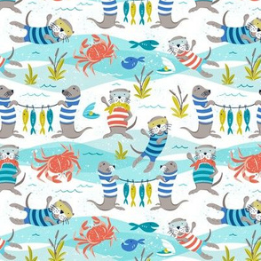 Otterly Fun - Summer Nautical Small Scale