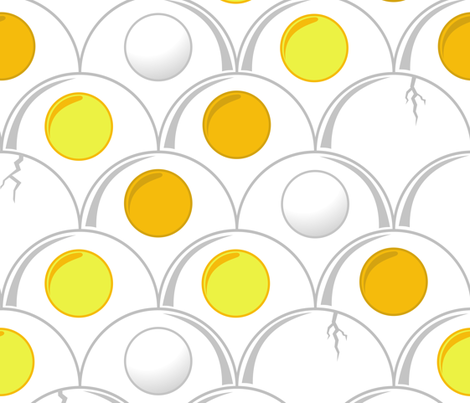 egg art deco fabric by b0rwear on Spoonflower - custom fabric