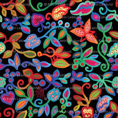 Folk Art Deco_multicolor