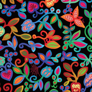 Folk Art Deco_multicolor