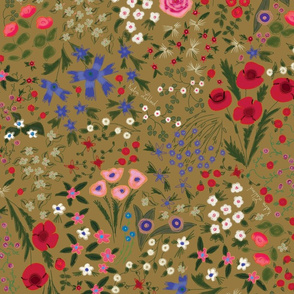 Florentina Wildflowers- Ochre