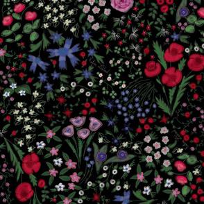 Florentina  Wildflowers - Night