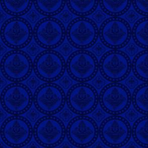 Authentic Design 002 - Dark Blue on Light Blue