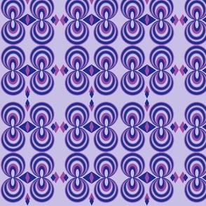 mauve geometric shapes