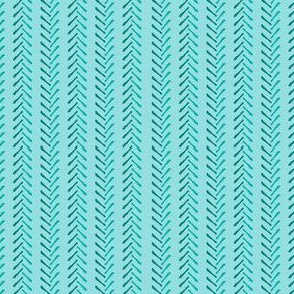 Emerald and Cyan  Arrows with Teal