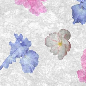Flower Play Medium on White