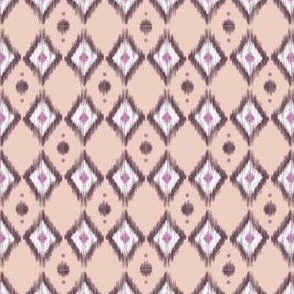 Pink Ikat with Sand
