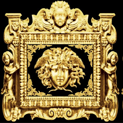 Rspoonflower-cherub-gold-medusa_shop_preview