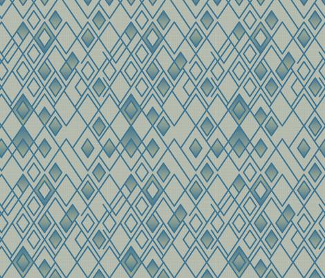 Rhapsody Blue fabric by chris_jorge on Spoonflower - custom fabric