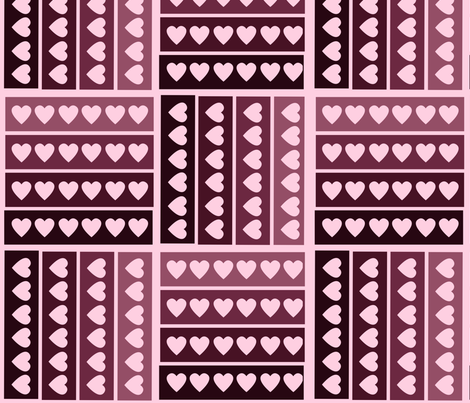 Love Will Find a Way fabric by cricketswool on Spoonflower - custom fabric