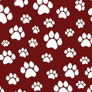 Doggy Paws - Maroon // Large