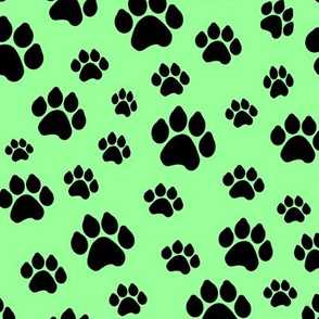Doggy Paws - Mint // Large