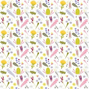 Australian Botanica white SMALL background by Mount Vic and Me