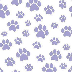 Lavender Doggy Paws // Large