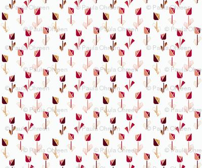 Art Deco Tulips