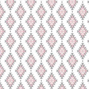 Small Kilim- pink/grey