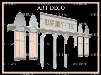 Ranfurly Hotel - Large Scale Art Deco Design