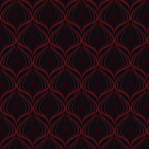 ART DECO Rosso