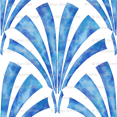Art Deco  in Watercolor