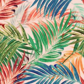 Palm Leaves Hawaiian style