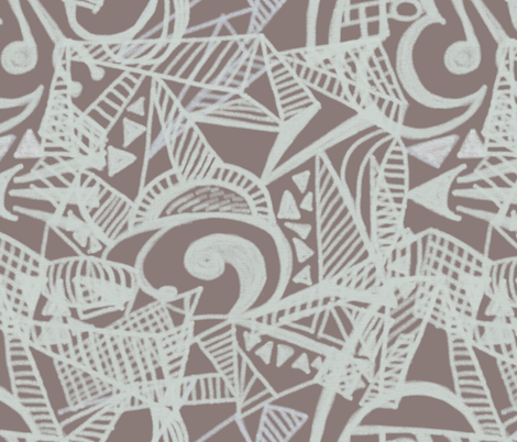 Child of the Jazz Age by Su_G fabric by su_g on Spoonflower - custom fabric