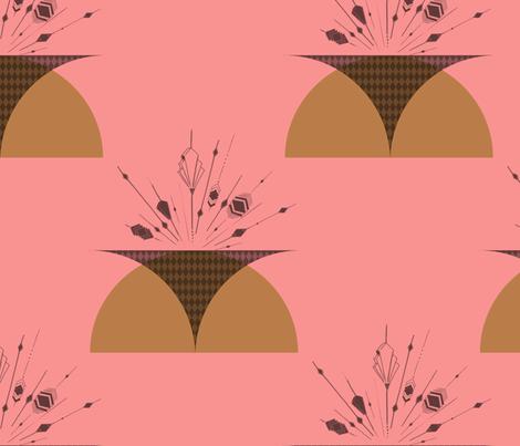 ArtDeco fabric by blijmaker on Spoonflower - custom fabric