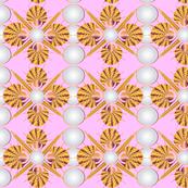 Art Deco Pink Lady