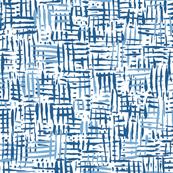 Painted Hatch—Blue