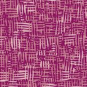 Painted Hatch—Dark Pink