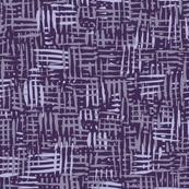 Painted Hatch—Dark Purple