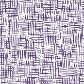 Painted Hatch—Purple