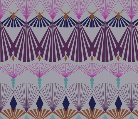 ArtDecoFans-NCD fabric by patterntalk on Spoonflower - custom fabric