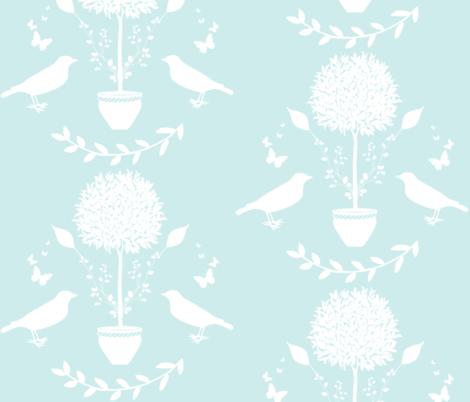 Bird Sanctuary fabric by ldarnell&co on Spoonflower - custom fabric