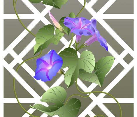Glorius_Morning fabric by mclendeninm on Spoonflower - custom fabric