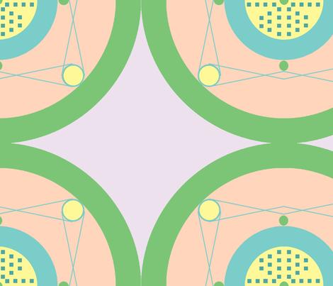 Art Deco fabric by legendaryee on Spoonflower - custom fabric