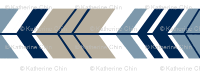 Rotated TAUPE NAVY ARROW