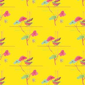 Art Deco Floral - Medium