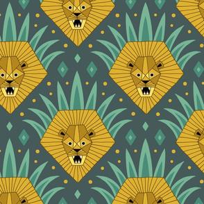 Art Deco Lion Roar (large)