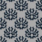 Custom_doxie_damask_midnight_blue_on_gray_rev2_shop_thumb