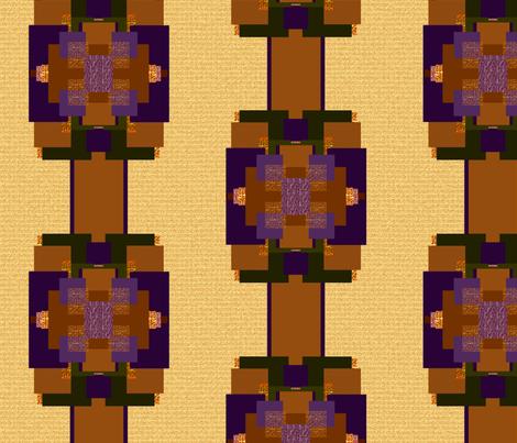 Deco Killim fabric by qideaz on Spoonflower - custom fabric