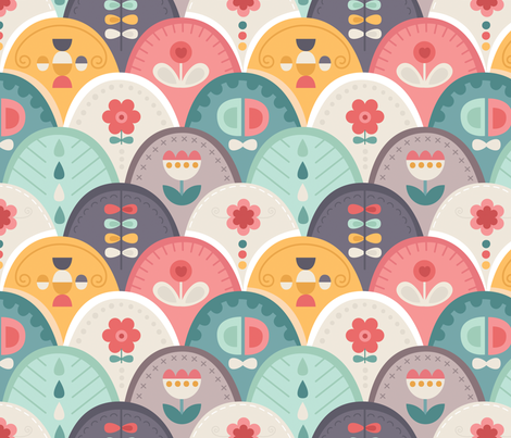 Otto fabric by la_fabriken on Spoonflower - custom fabric