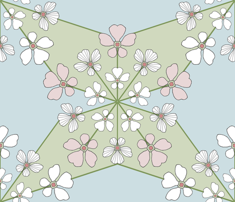 Spring is in the air fabric by adranre on Spoonflower - custom fabric