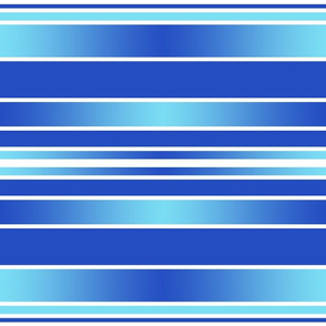Blue and aqua stripes
